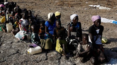 Guterres called for South Sudan's leaders to do more to help the 7.5 million in need of aid [Siegfried Modola/Reuters]