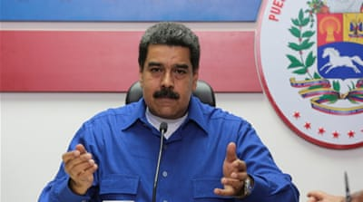 President Maduro blames the shortages on a right-wing plot to overthrow him [Handout/Reuters]