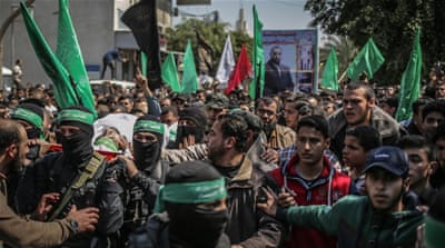 Thousands attend Gaza funeral of slain Hamas official