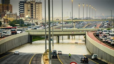 Flooding and thunderstorms hit Arabian Peninsula