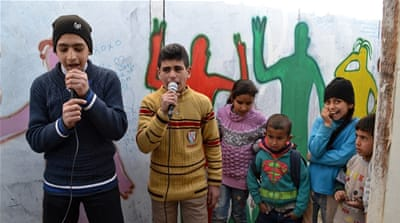 Syrian refugee children find a future in freestyle