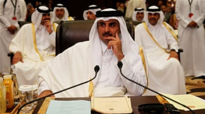 Who is Qatar's emir?