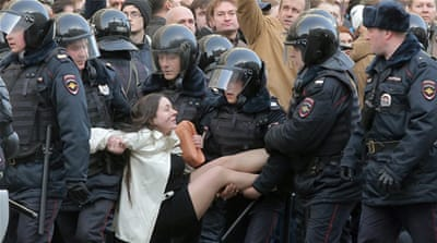 Russia's new protest generation