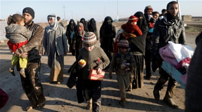 Report: More than 200,000 displaced by Mosul conflict