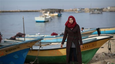 Gaza's only fisherwoman navigates dangerous waters