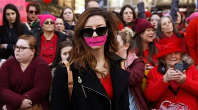 'Day Without a Woman' marked with strike and rallies