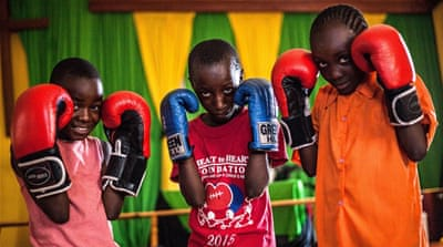The boxing girls of Kenya