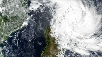 Strongest cyclone in 13 years hits Madagascar