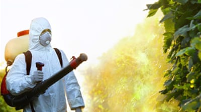 UN: 200,000 die each year from pesticide poisoning