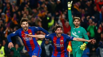 Barcelona makes history with 6-1 comeback win over PSG