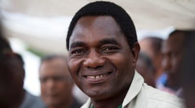 Hakainde Hichilema due in court on treason charges
