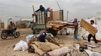 Thousands of Syrians face eviction from Lebanon camps