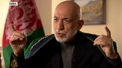 Hamid Karzai: Taliban and the Afghan government should talk