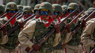 Venezuelan army vows loyalty to embattled president