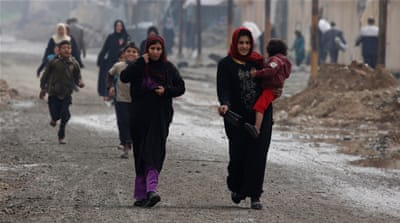 The human shields of Mosul