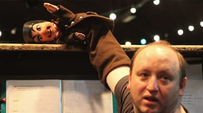 Lyon: Satirical puppet Guignol takes on French election