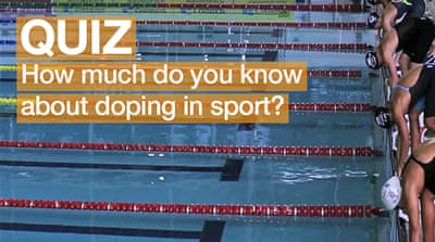 Quiz: How much do you know about doping in sport?
