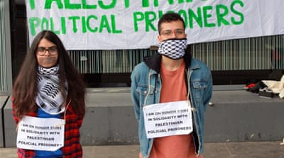 The activists said their hunger strike would last one week [Courtesy: Ales Raposo]