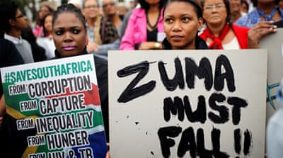 Even if Zuma goes, South Africa will remain divided