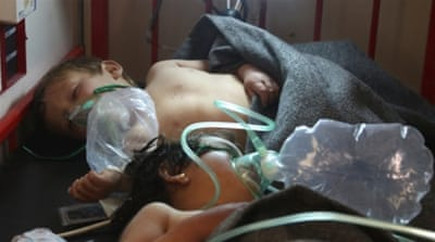 'Toxic gas attack' in Syria kills at least 58 people