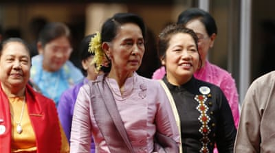 Aung San Suu Kyi's NLD party came to power in a historic 2015 election [File: EPA]