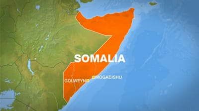At least 19 people killed by land mine in Somalia