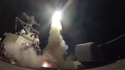 Trump's strike on Syria: A convenient distraction