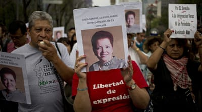 Mexico media battles impunity