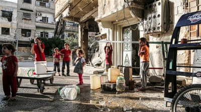 Inside Syria: How life goes on in a besieged town
