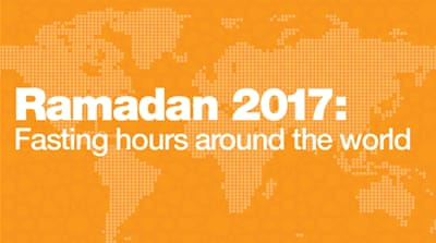 Ramadan 2017: Fasting hours around the world