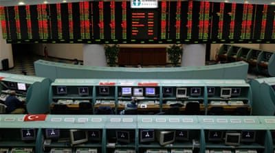 Turkey detains ex-stock exchange workers for Gulen link