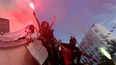 Thousands protest Tunisia's corruption amnesty bill