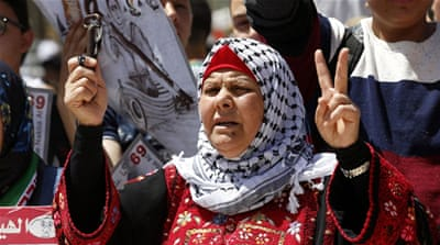 Palestinians take to the streets for Nakba Day