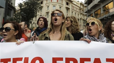 Athens and Thessaloniki see anti-austerity marches