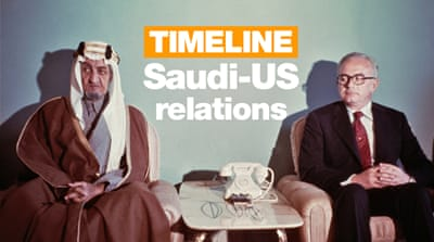 US-Saudi relations: A timeline