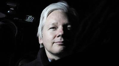 Swedish prosecutors dropped probe against Assange on May 19 [File: Facundo Arrizabalaga/EPA]