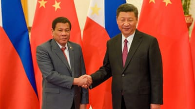 Duterte: China's Xi threatened 'war' over sea oil