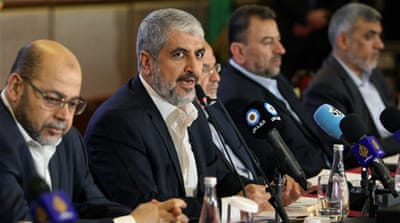 'The old charter was a product of its era, 30 years ago. We live in a different world today,' Meshaal said [Reuters]