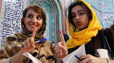 Iranians vote in presidential election