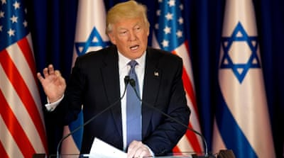 Trump fails to explain how to revive Arab-Israeli talks