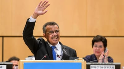 Ethiopia's Tedros becomes first African to head WHO