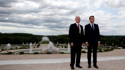 Muammar Putin at the Versailles