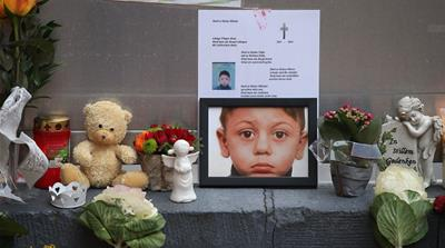 The 2015 murder of a four-year-old refugee in Berlin