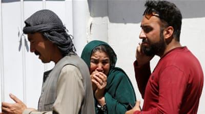 The victims of the attack in Kabul were mostly Afghan civilians [Reuters]