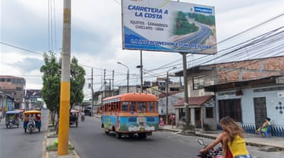 Connecting Iquitos: Building a road through the Amazon