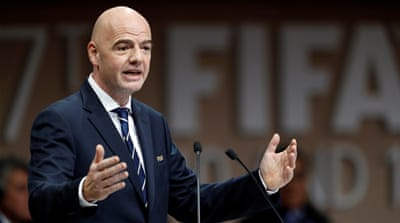 FIFA president says Qatar World Cup is not under threat