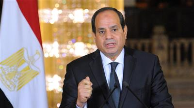 Egyptian President Abdel Fattah el-Sisi's government has increasingly silenced opposition candidates likely to run against him in the upcoming presidential race [File: Reuters]