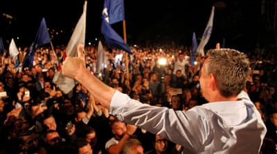 Kosovo ex-fighters declare victory in general election