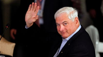 Panama's ex-president Martinelli arrested in Florida