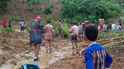 Bangladesh rescuers race to reach landslide victims